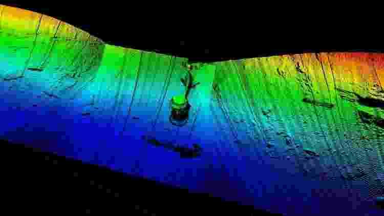 Imagem do oceano obtida pelo submarino da Terradepth - Terradepth/Divulgação - Terradepth/Divulgação