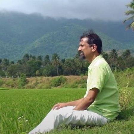 Sridhar desfruta da paz e do silêncio que a aldeia oferece - Zoho Corp