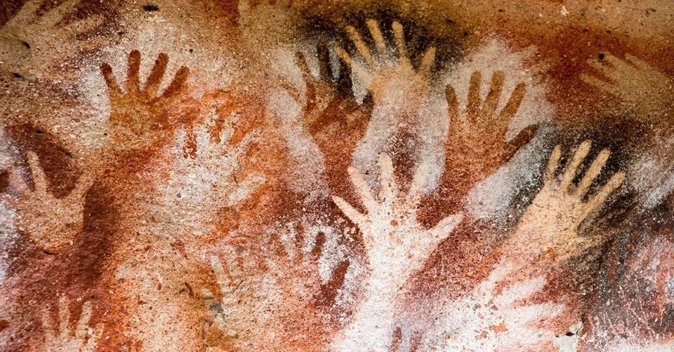 11.dez.2015 - Cueva de las Manos, ou