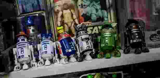 Itens da coleção de Jétur Cunha, fã da saga Star Wars - Bruno Santos/UOL - Bruno Santos/UOL