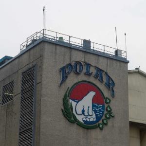 Fachada da cervejaria Polar, em Caracas, capital da Venezuela