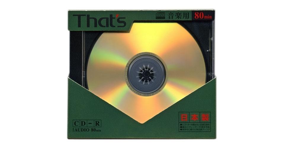 CD-R (2010). Esse é um dos objetos extintos que integram a enciclopédia virtual criada pela startup russa Thngs para eternizar tecnologias do passado