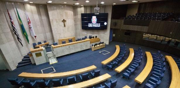 Plenário da Câmara dos Vereadores de São Paulo - Andre Bueno/CMSP