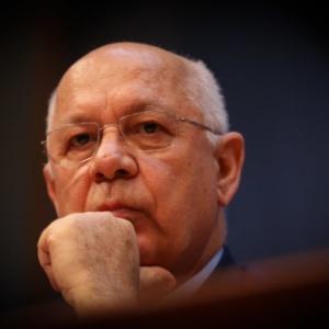 O ministro Supremo Tribunal Federal Teori Zavascki, morto em acidente na quinta (19)