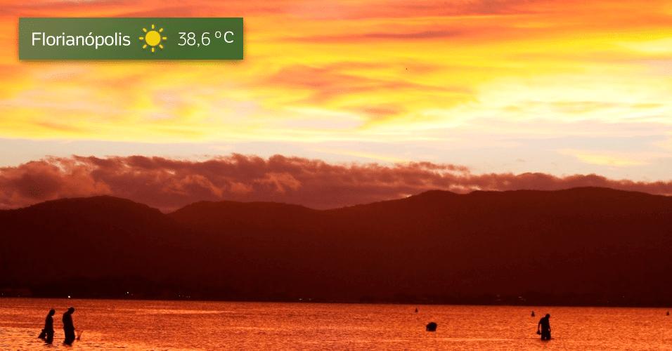 15.mar.2017 - Florianópolis temperatura máxima