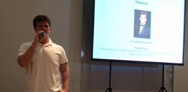 Felipe Rigoni, de 26 anos, foi aprovado para fazer mestrado em políticas públicas