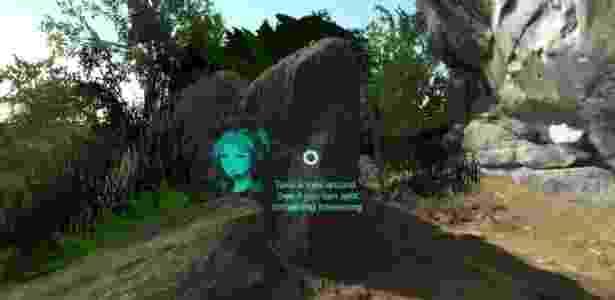Escaneamento do sítio arqueológico foi parar em óculos de realidade virtual - Divulgação - Divulgação