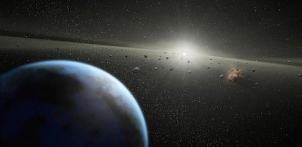 Objetos deslocados para o interior do Sistema Solar devido ao crescimento de Júpiter teriam levado à região a maior parte da água atualmente existente