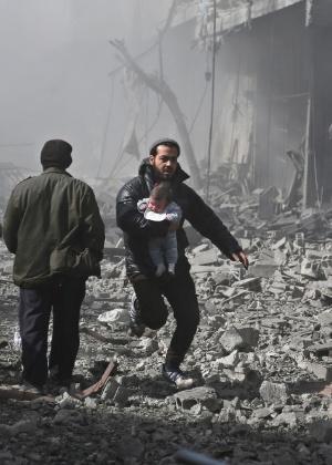 Projeto de resolução que pede um cessar-fogo de 30 dias na Síria deve ser votado nesta quinta (22)