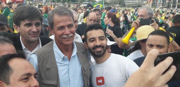 4.abr.2018 - O general da reserva Paulo Chagas é pré-candidato do governo do DF