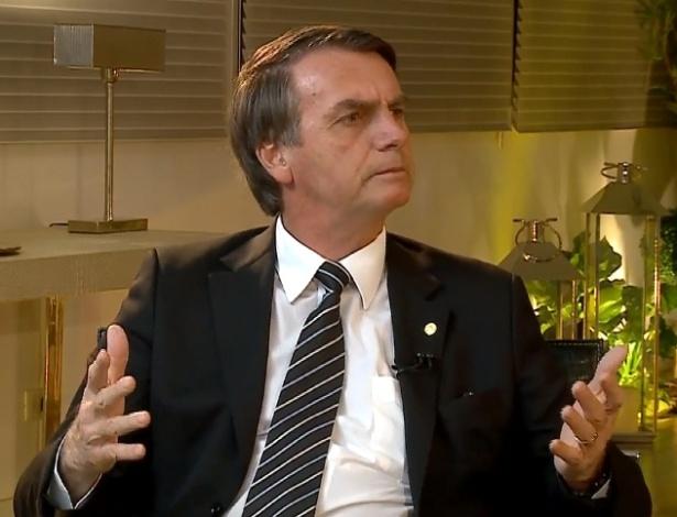 Deputado federal Jair Bolsonaro (PSL), em entrevista à RedeTV!