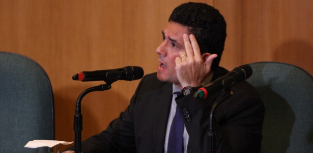 6.nov.2018 - Juiz federal Sergio Moro concede entrevista coletiva em Curitiba - CASSIANO ROSÁRIO/FUTURA PRESS/FUTURA PRESS/ESTADÃO CONTEÚDO