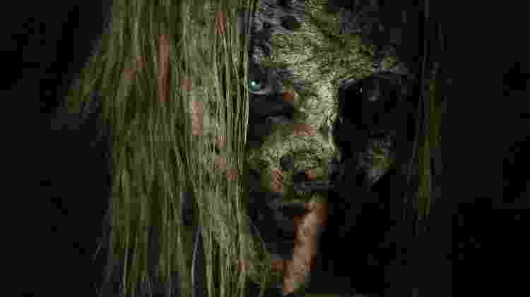 """Pôster de """"The Walking Dead"""" mostra a vilã Alpha - Reprodução/EW - Reprodução/EW"""