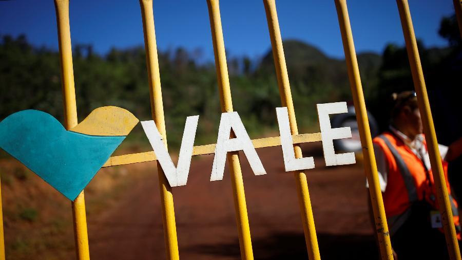 Logo da sede da mineradora Vale em Brumadinho - Adriano Machado/Reuters