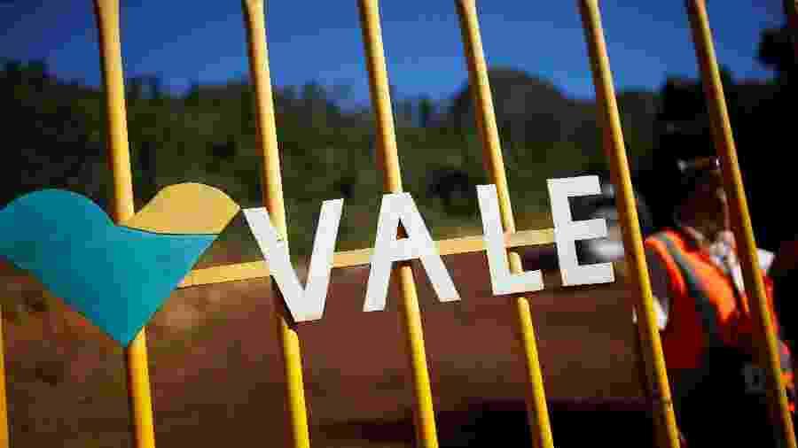 Logo da sede da mineradora Vale S.A. em Brumadinho (MG) - Adriano Machado/Reuters