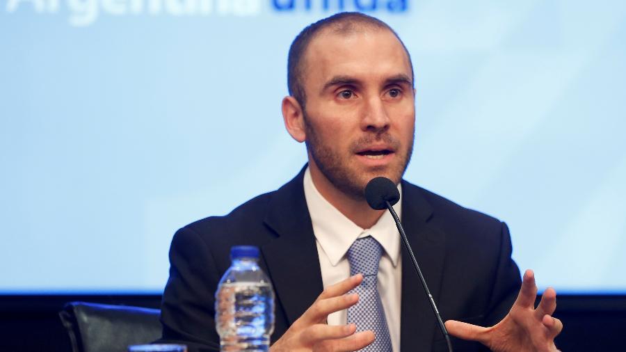 O ministro da Economia da Argentina, Martin Guzman - Mariana Greif
