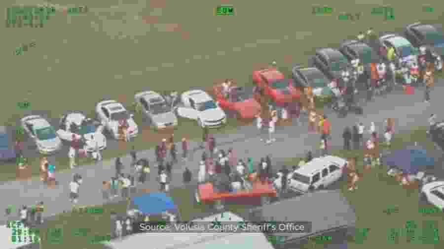 Pessoas são presas após participarem de festa na Flórida - Reprodução/Facebook/Mike Chitwood