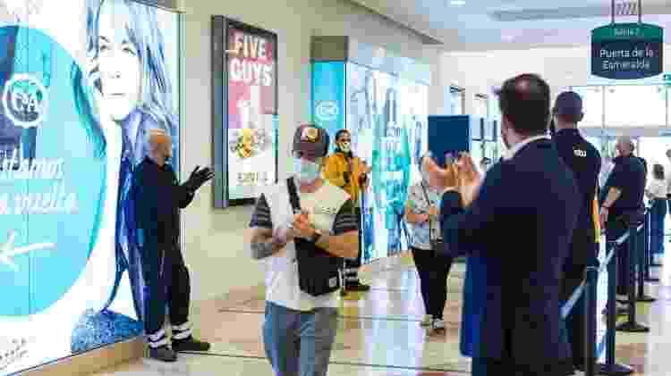 8.jun.2020 - Reabertura de shopping em Madri, na Espanha, durante pandemia do novo coronavírus - David Benito / Getty Images - David Benito / Getty Images