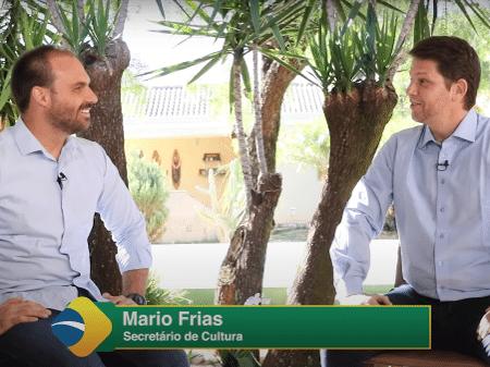 Em 'comunhão' com Bolsonaro, Mario Frias chama auxilio de R$ 600 ...