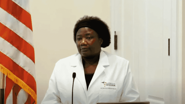 A médica Stella Immanuel  - Reprodução - Reprodução