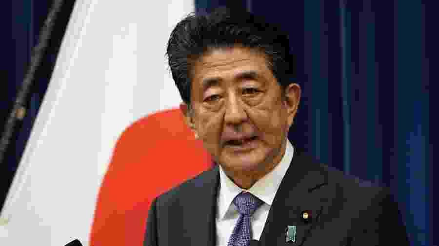Shinzo Abe oficializou renúncia no Japão - Franck Robichon/AFP)