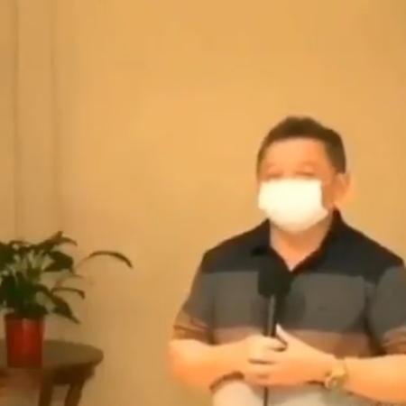 O gestor da Saúde Gilberto Albuquerque foi criticado nas redes por falas machistas - Reprodução / Twitter