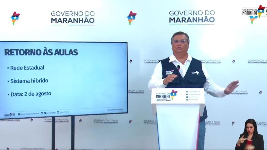 Governo maranhense autoriza aulas presenciais, em agosto - Divulgação/Governo do Maranhão
