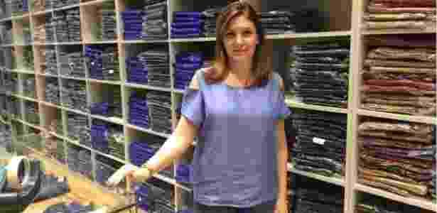 Nádia Yunes, lojista do Brás - Arquivo pessoal - Arquivo pessoal