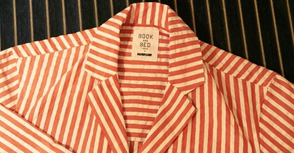 05.set.2016 - Foi fabricada uma quantidade limitada de pijamas, que se esgotaram apenas 15 minutos após terem sido colocados à venda em junho, por 20 mil ienes (cerca de R$ 626) cada