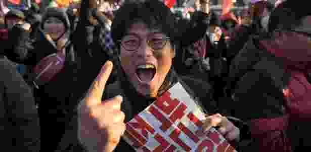 seul coreia do sul impeachment - Ed Jones/ AFP - Ed Jones/ AFP