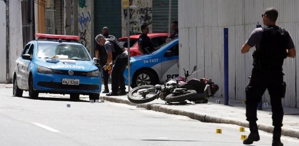 Resultado de imagem para Suspeitos de assalto são baleados em ação policial na Avenida Pinto de Aguiar
