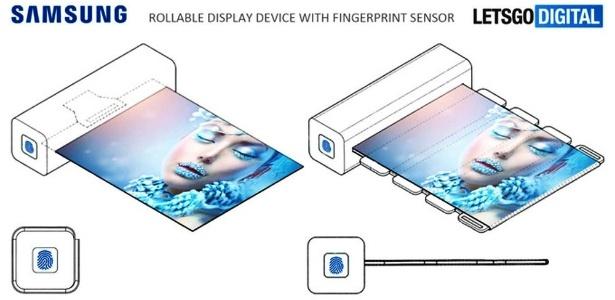 Segundo patente da Samsung, tela do aparelho ficaria escondida em uma barra. Curte?