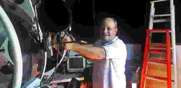 bbc Víctor Buso consegiu captar o início de uma supernova quando testava sua nova câmera - Arquivo pessoal - Arquivo pessoal