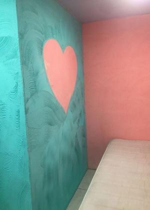 Quarto que seria usado para visitas íntimas na cadeia de Benfica, zona norte do Rio