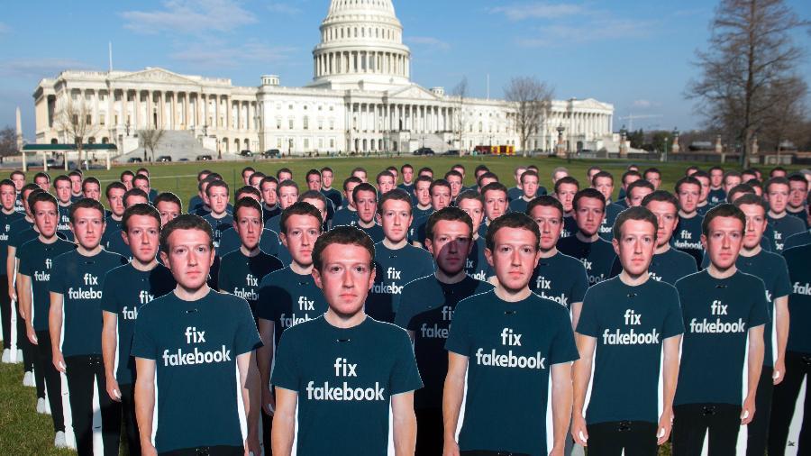 Contatos de email de 1,5 milhão de novos usuários da rede social eram guardados desde 2016 - Saul Loeb/AFP