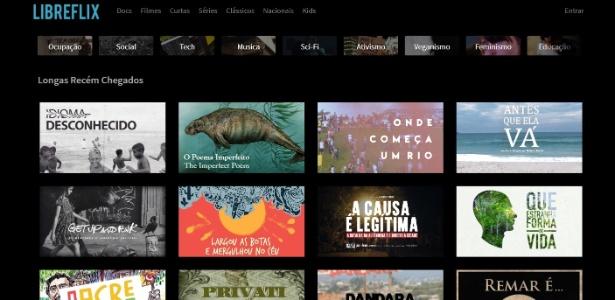 Há ótimas produções no catálogo da plataforma brasileira