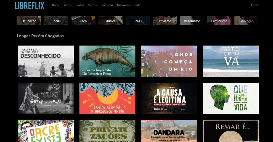 """Testamos: Libreflix, a """"Netflix brasileira e gratuita"""", tem ótima curadoria"""