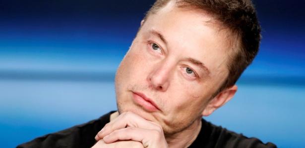 Elon Musk mais uma vez causou polêmica - REUTERS/Joe Skipper