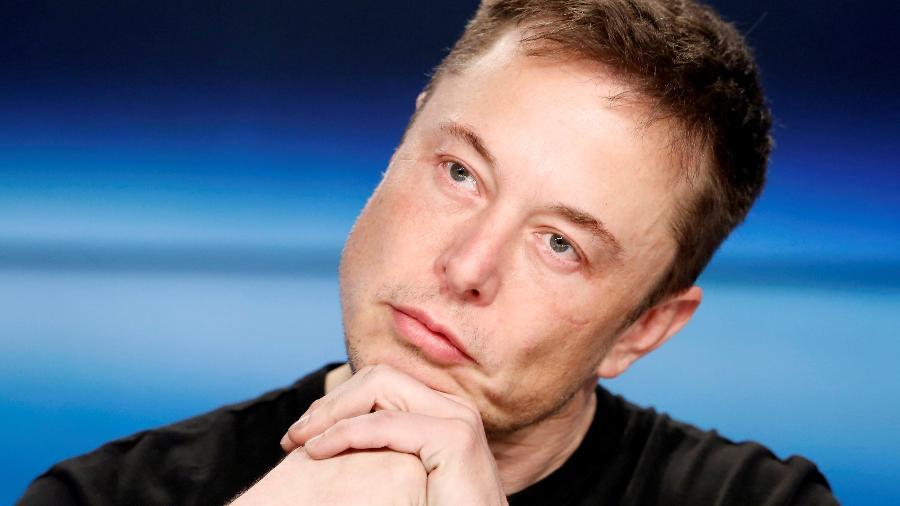 6.fev.2018 - Elon Musk no Cabo Canaveral, na Flórida  - REUTERS/Joe Skipper