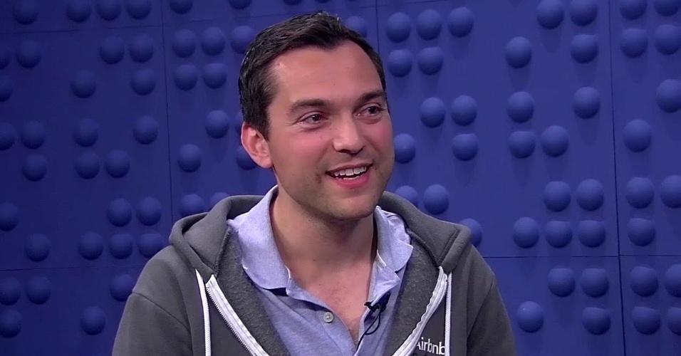 Nathan Blecharczyk é um dos fundadores do AirBnb, startup de compartilhamento de imóveis. Sua fortuna é estimada em US$ 3,7 bilhões.
