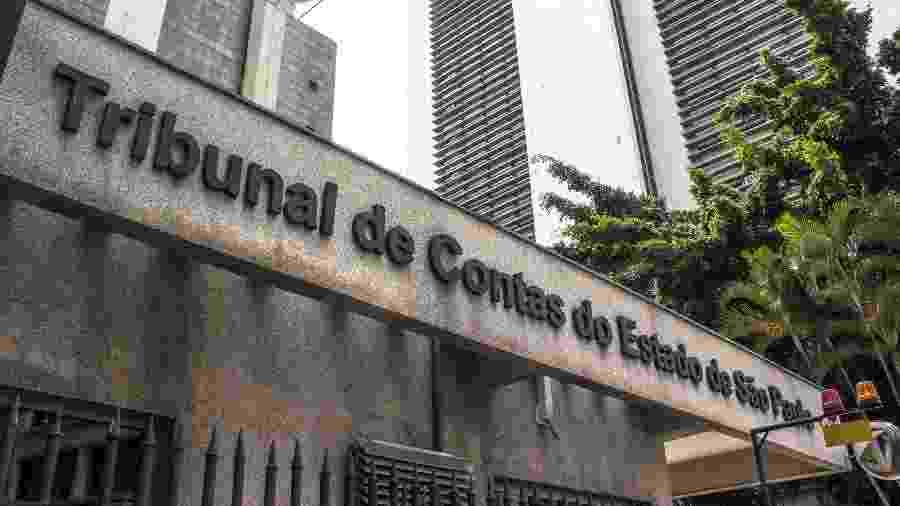 27.fev.2019 - Fachada do Tribunal de Contas do Estado de São Paulo - Alf Ribeiro/Folhapress