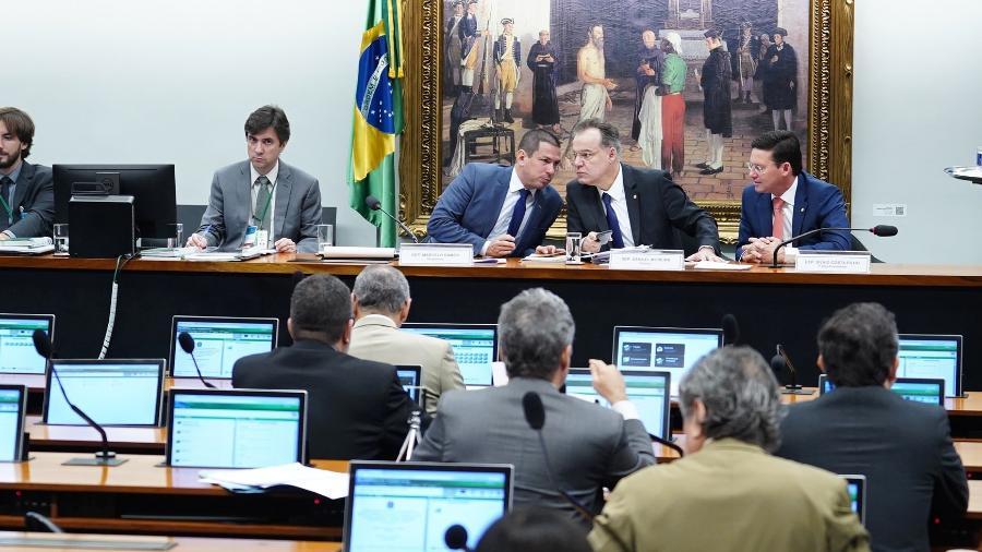 26.jun.2019 - Sessão da comissão especial da reforma da Previdência  - Pablo Valadares/Câmara dos Deputados