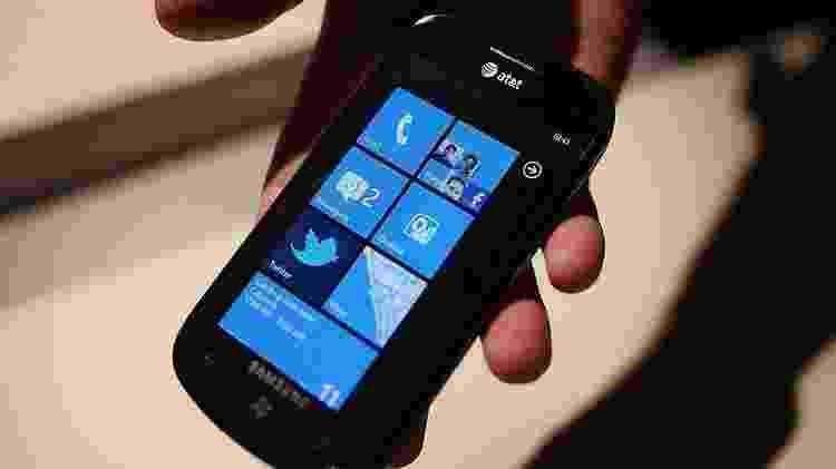 Windows Phone é outro dos sistemas operacionais atingidos; ele nunca teve a popularidade do Android e do iPhone - Getty Images