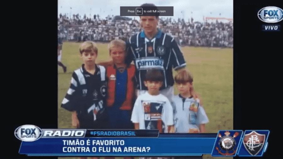 Fox Sports Rádio exibe fotos antigas do comentarista Felipe Facincani - Reprodução