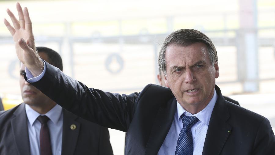 2.set.2019 - O presidente Jair Bolsonaro - Antonio Cruz - 2.set.2019/Agência Brasil