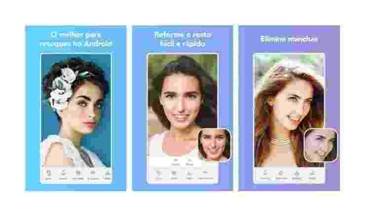 Facetune: aplicativos para digital influencer - Reprodução - Reprodução
