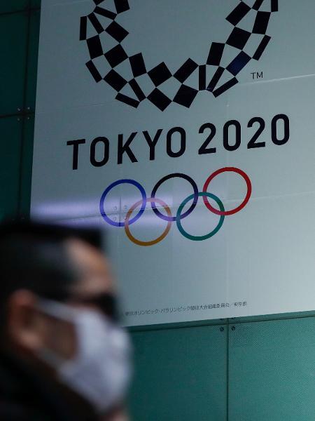 Logo da Olimpíada de Tóquio - ISSEI KATO