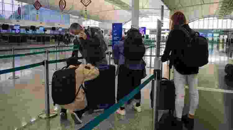 Pessoas em um aeroporto - Getty Images - Getty Images