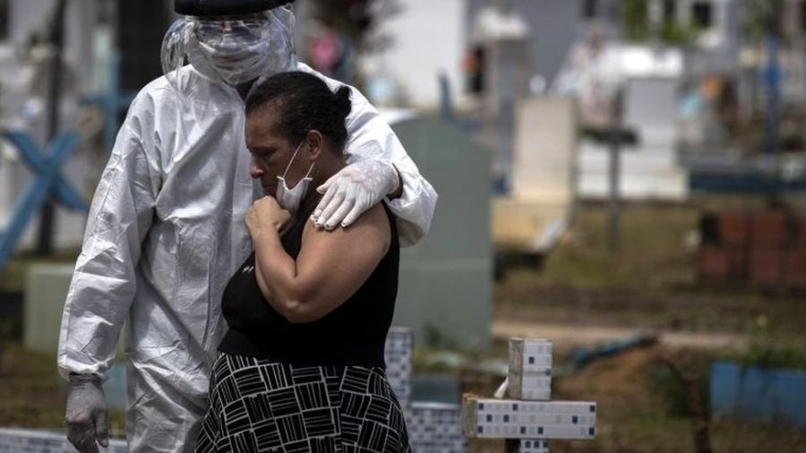 Amazonas tem a pior taxa de incidência de casos confirmados de coronavírus do país - EPA via BBC