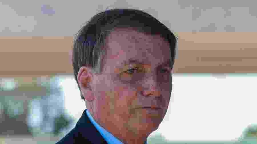 O presidente Jair Bolsonaro no Palácio da Alvorada, em Brasília (DF) - Frederico Brasil / Estadão Conteúdo